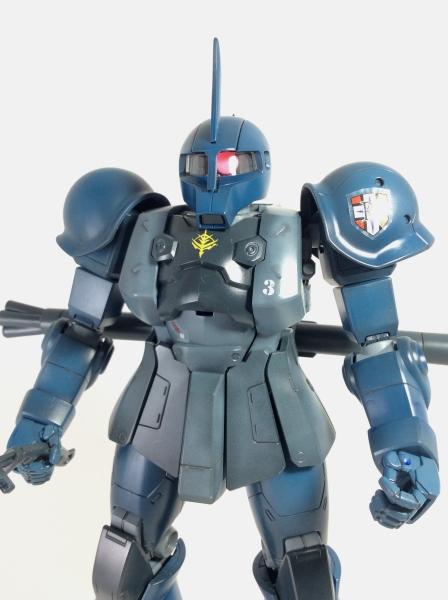 【MG】MS-05B ZAKUI RAMBA RAL'S CUSTOM ザクI ランバ・ラル専用機(クリア吹いて完成!)