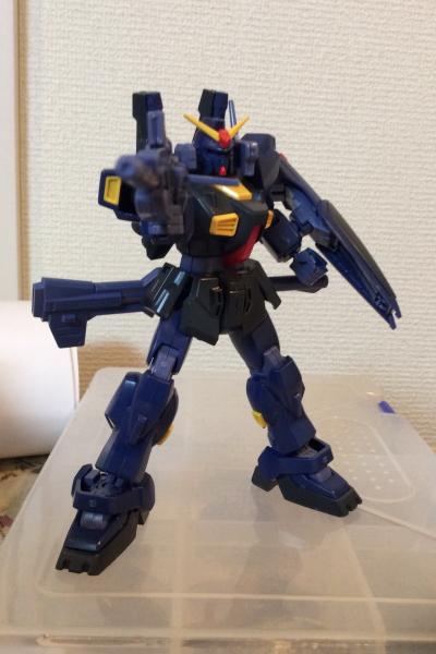 【HGUC】RX−178 ガンダムMk2(後ハメ加工したらMk2が脱臼!?)