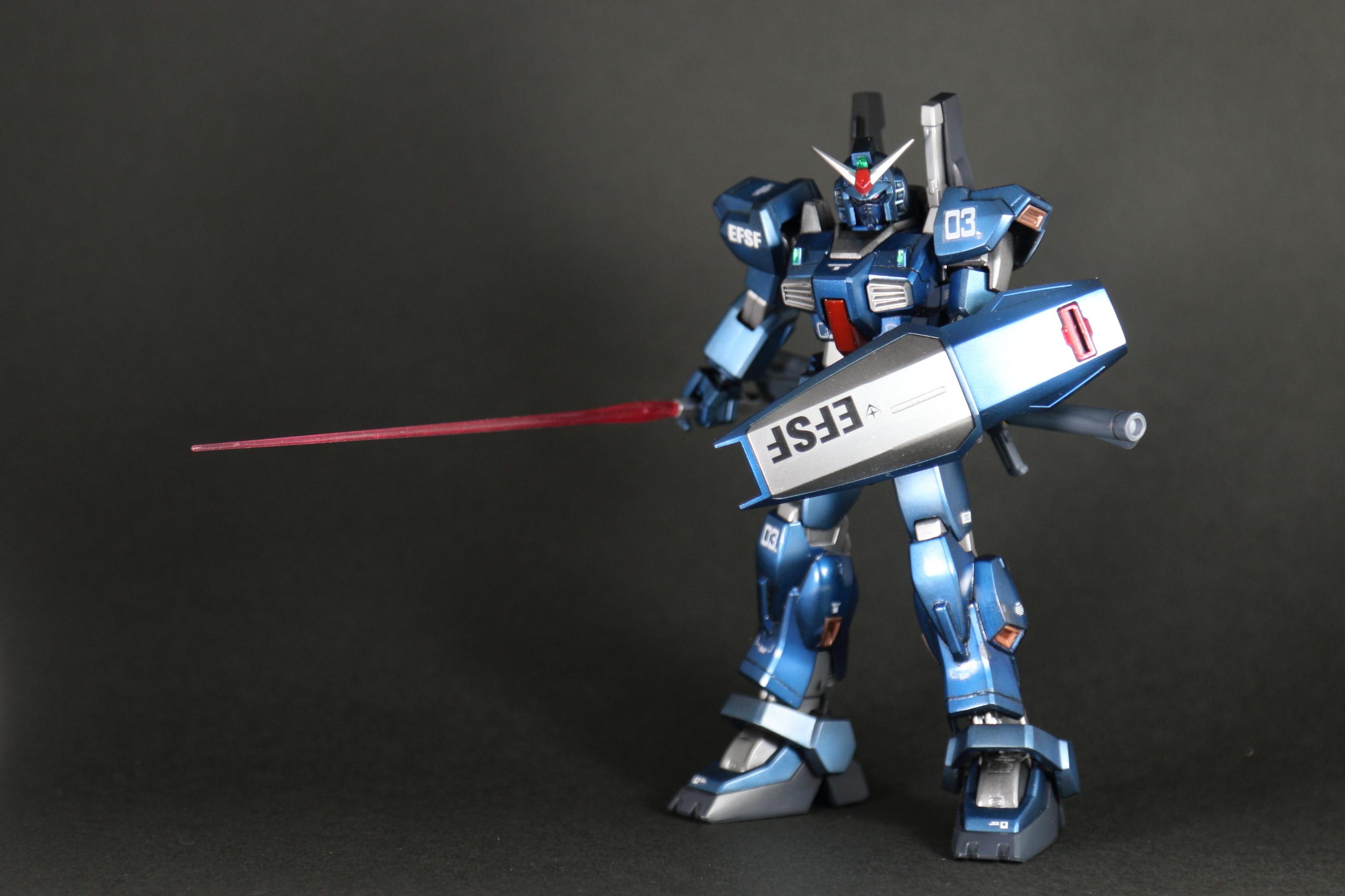 【HGUC】RX−178 ガンダムMk2(デカール貼ったぞ。完成。。。)