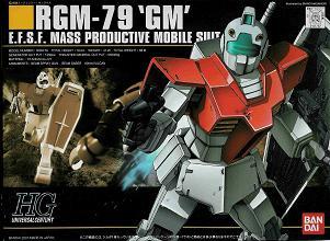 【HGUC】RGM-79 GM (筋彫り順調!)