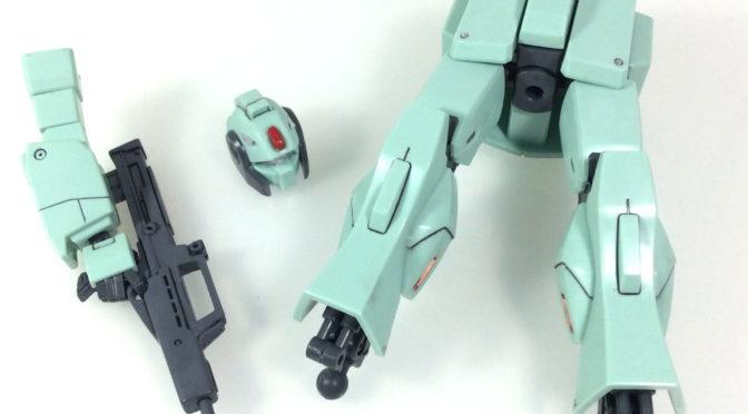 【HGUC】MSA-003 ネモ・ユニコーンver(その2:筆塗り奮戦記その1:塗膜が涙涙でドボン)