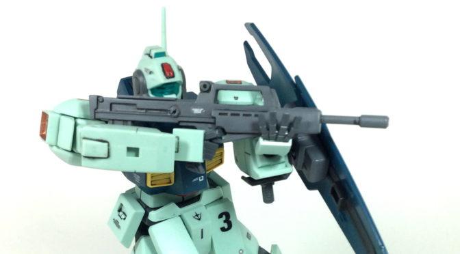 【HGUC】MSA-003 ネモ・ユニコーンVER(筆塗り奮戦記最終回:デカール&クリアコート)