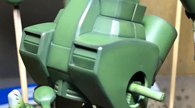 【HGUC】RX-75ガンタンク(なんちゃってAFV)