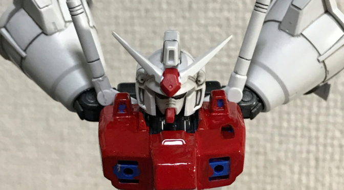 【HGUC】RX-78GP01Fb ゼラフィンサス (筆塗り、奮闘!)