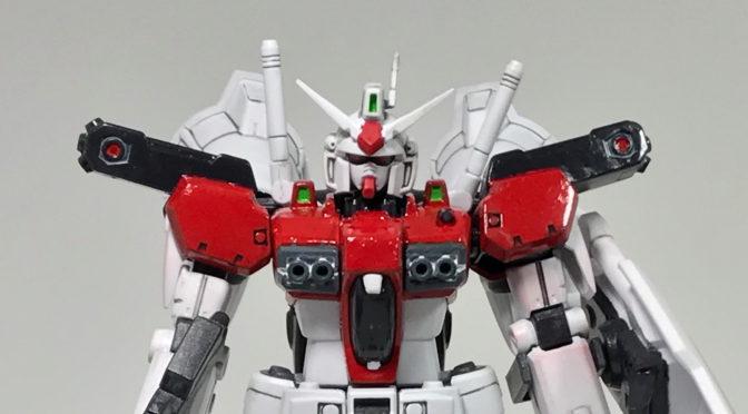 【HGUC】RX-78GP01Fb ゼラフィンサス (筆塗り塗装、おわり)