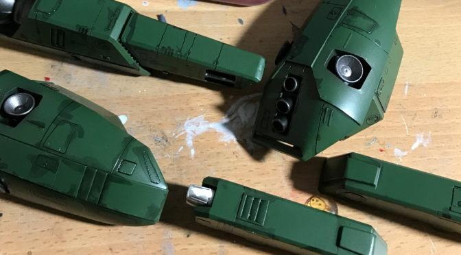 【ハセガワ】VF-1S ストライク バトロイド バルキリー(ストライクパックの塗装。。。)