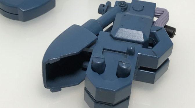 【旧キット】 RX-178 ガンダムMK2 (脚部の作成、塗装+合わせ目消し)
