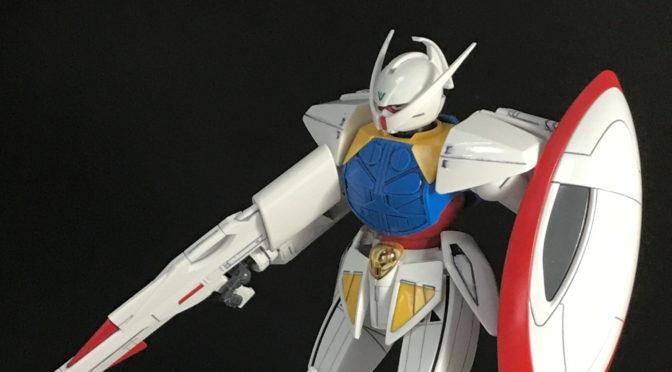 【HGUC】WD-M01 ∀ガンダム(その1:部分塗装仕上げ・完成。。。)
