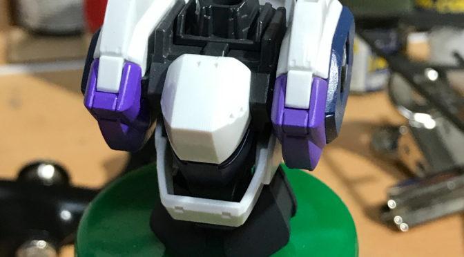 【BANDAI】 ARX-7 アーバレスト(ガンダムマーカーエアブラシでサクサク塗装。。。)