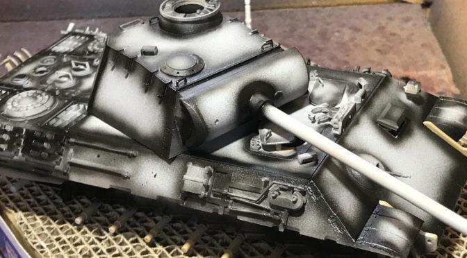 【タミヤ】1/35 ドイツ陸軍 パンサー 中戦車(初めてのAFV。。。)