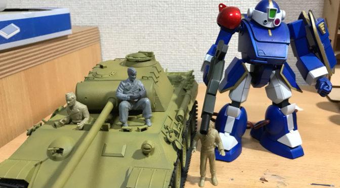 【タミヤ】1/35 ドイツ陸軍 パンサー 中戦車(単色グラデ+ベルゼルガ。。。)