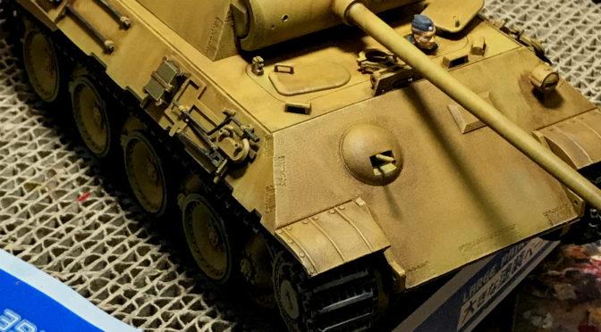 【タミヤ】1/35 ドイツ陸軍 パンサー 中戦車(本気のウェザリング。。。)