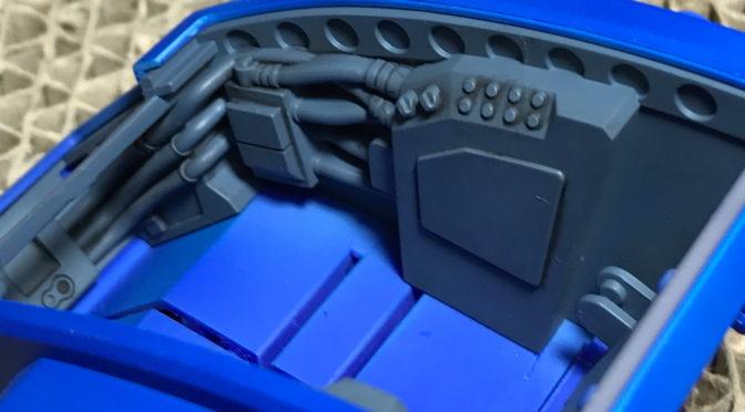 【VOLKS】VR-MAXIMA ゼルベリオス(瞬着でヘッドユニットの合わせ目を消す。。。)