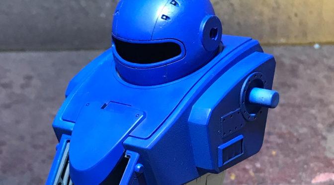 【VOLKS】VR-MAXIMA ゼルベリオス(胴体の合わせ目を消して一山越えた。。。)