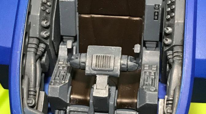 【VOLKS】VR-MAXIMA ゼルベリオス(コックピット完成。。。)
