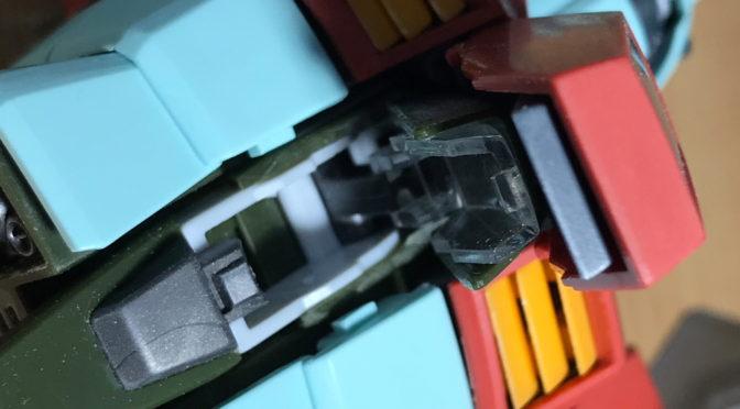 【MG】RGM-79 ジム ver2.0(その2:コアファイターを載せてみる。。。)