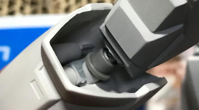 【旧キット】AV-98 イングラム(その3:工作終わって塗装に入ります。。。)