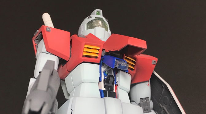 [MG] RGM-79 GM VER2.0 (Completed, gradation painting.)