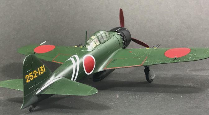 【ハセガワ】三菱 A6M5c 零式艦上戦闘機 52型 丙(完成、スケールモデルのリアル。。。)