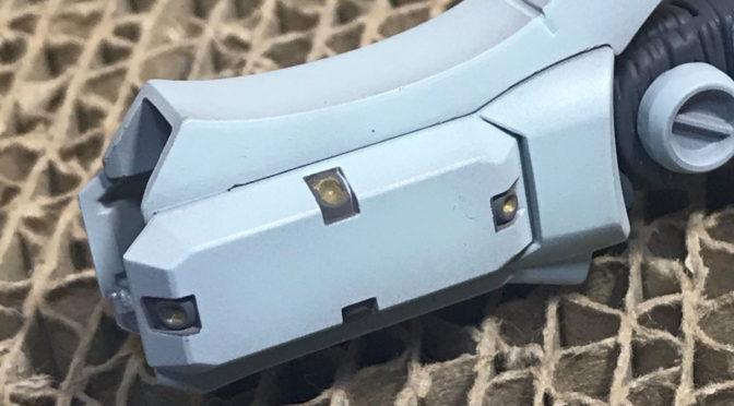 【HGGT】RGM-79 GM GTB.VER(足のバーニアをマスキング。。。)