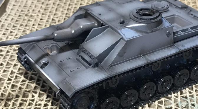 【タミヤ MMシリーズ 1/48】ドイツIII号突撃砲G型(のんびり小物の切り出し。。。)