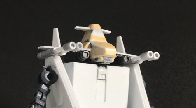 【スクラッチ】超次元戦闘母艦グランド・バース(その8:艦橋作成。。。)