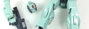 【HGUC】MSA-003 ネモ・ユニコーンver(筆塗り奮戦記その1:塗膜が涙涙)