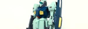 【HGUC】MSA-003 ネモ・ユニコーンVER(筆塗り奮戦記その3:ドボンからの再塗装)